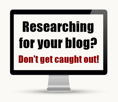 Researching and Citing Statistics for Blogs