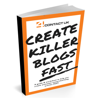 Create killer blogs fast